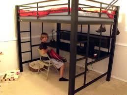 black metal twin loft bed with desk metal loft bed assembly instructions metal bunk beds black metal
