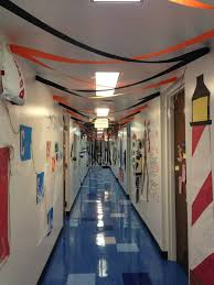 resident assistant nautical floor themed decorations