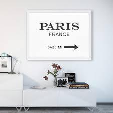 aliexpress com buy modern paris france canvas painting wall art