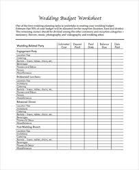 wedding flowers estimate 6 wedding budget form sle free sle exle format