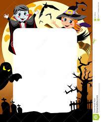 halloween photo frame royalty free stock photo image 32108325