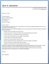 resume cover letter accounting account executive cover letter