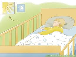 4 ways to get a baby to sleep in a crib wikihow