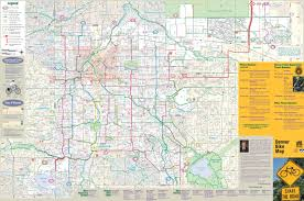 Boston Bike Map by Denver Maps Colorado U S Maps Of Denver