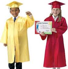 kindergarten cap and gown kindergarten graduation cap and gown family clothes