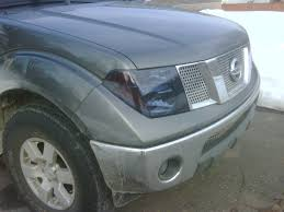 nissan altima blacked out 05 headlight black out nissan frontier forum
