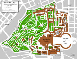 Where Is The Vatican City Located On A World Map by Vatican City Maps Maps Of Vatican City