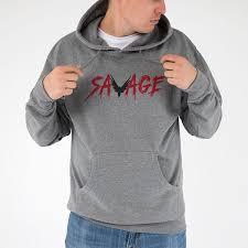 savage hoodie u2013 maverick by logan paul