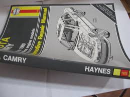 toyota camry 1983 1990 haynes repair manual haynes staff