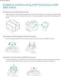 foot1 katvr foot sensor user manual users manual 2 3 hangzhou