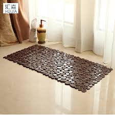 stone pebble bath mats promotion shop for promotional stone pebble 2017 new pebble stone style pvc bath mat non slip anti bacterial with suction cups carpet rug for shower bathtub baby safe mat