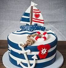 nautical baby shower cakes baby shower cakes