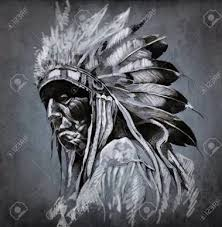 the 25 best red indian tattoo ideas on pinterest indian skull