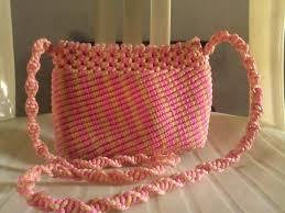 cara akhir membuat tas dari tali kur koleksi model tas tali kur terbaru terkeren