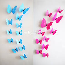 decor 56 beautiful butterfly vinilos paredes 3d wall stickers