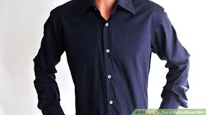 how to buy a man u0027s dress shirt 7 steps with pictures wikihow
