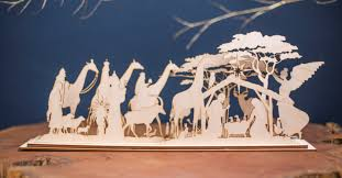 Laser Cutting Wood South Africa by Wooden Nativity Set Christmas In Africa Elsje Design U0026 Decor Studio