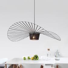 hanging a chandelier modern straw hat pendant l suspension hanging chandelier ceiling