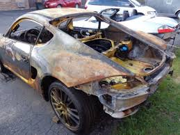 porsche cayman s parts purchase used 2006 porsche cayman s bare chassis racing