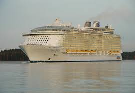 largest cruise ship in the world handed to owners