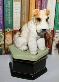 vintage dog ring holder images Vintage cocker spaniel dog figurine perfect show dog stance jpg