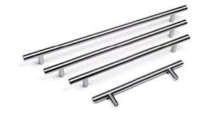 kitchen cabinet bar handles handles u0026 ironmongery t bar handle door kitchen cabinet brushed