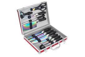 valise cuisine meuble de cuisine pradel c9558 valise 12 pieces lames revetement