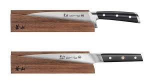 kitchen knives with sheaths kitchen knife sheath cangshan 1021462 solid ash wood magnetic only