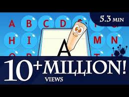 how to write the english alphabet a to z youtube