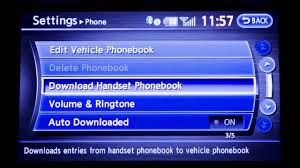 2013 infiniti g sedan vehicle phonebook youtube