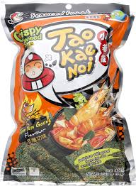 tao kae noi seaweed wasabi flavor 2 packs amazon com grocery