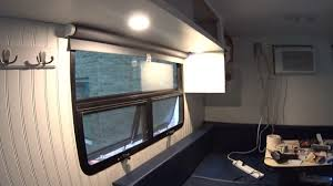 box truck camper 95 interior trim and more lights youtube