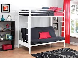 Loft Bed With Futon Loft Bed With Futon Underneath Roselawnlutheran Cool Bunk