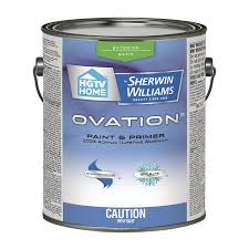 hgtv home by sherwin williams ovation exterior latex paint and