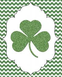 shamrock printable measured by the heart