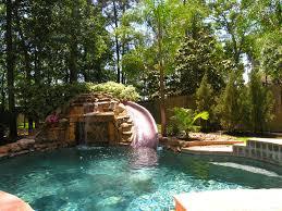backyard waterfall pool backyard and yard design for village