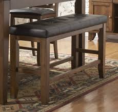 homelegance kirtland 48in counter height bench 1399 24bh
