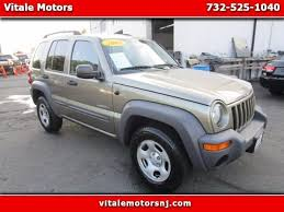jeep liberty 2004 for sale 2004 jeep liberty sport for sale in south amboy cars com
