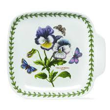 portmeirion botanic garden set of 4 canape dishes portmeirion usa