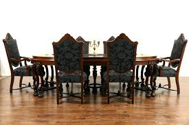 Modern Furniture Dining Chairs by Dining Table Renaissance 1925 Antique Dining Set Table 3 Leaves
