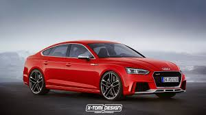 2018 audi rs5 sportback rendered will be available in america