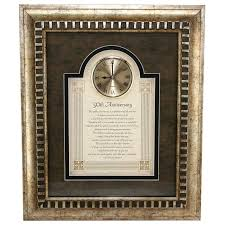 traditional 50th wedding anniversary gifts gifts th parents anniversary traditional 50th wedding anniversary
