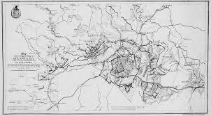 Metro Atlanta Map Chattahoochee River National Recreation Area West Palisades 75