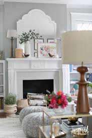 130 best living room images on pinterest living room ideas how one pillow with pops of pink inspired a spring living room redesign