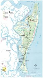 Cumberland Lake Map Cumberland Island Map Cumberland Island Ga U2022 Mappery