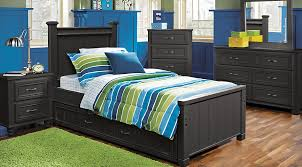 Bed Sets Black Cottage Colors Black 5 Pc Panel Bedroom Bedroom Sets Black