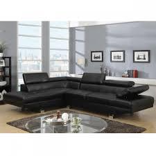 salon avec canapé noir canape d angle napoli cuir reconstitue noir gauche canapé topkoo