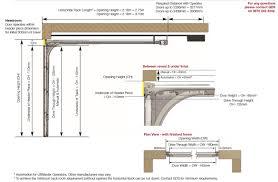 Overhead Door Manual Commercial Overhead Door Wiring Diagram Garage Door Track Garage