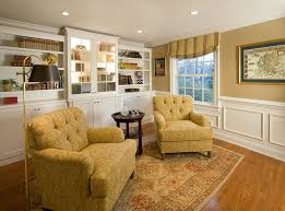 Traditional Living Room Traditional Living Room With Wainscoting By Lisa Furey Zillow