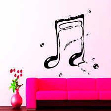 online get cheap music studio furniture aliexpress com alibaba simple style music notes art designed wall stickers home room fashion art decor wall murals stickers